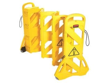 9S11 Portable Mobile Barrier Yellow